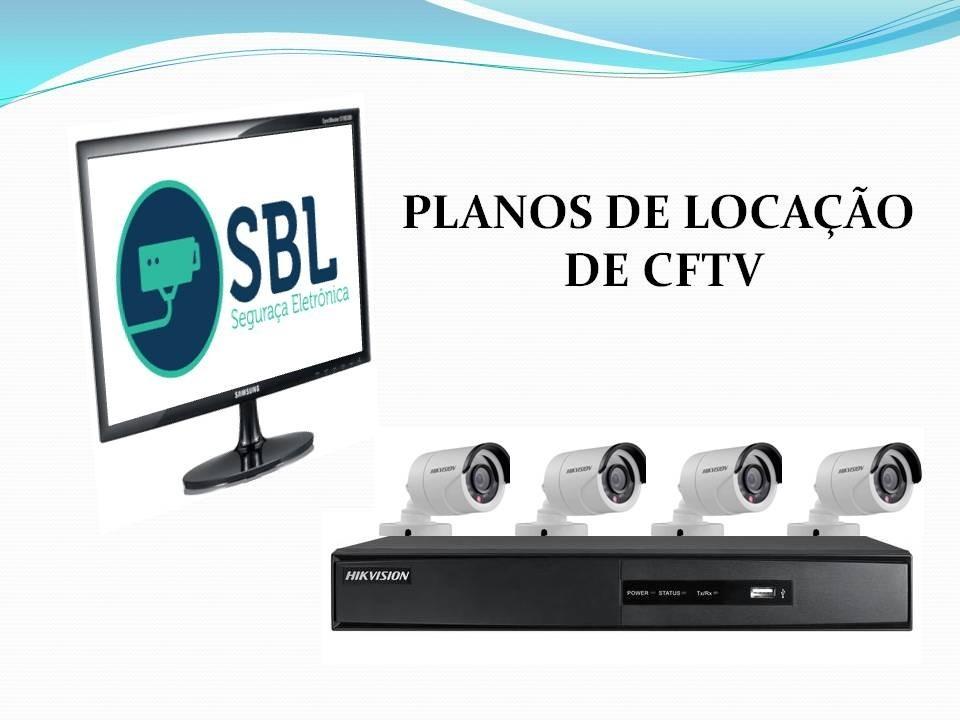 Locação de equipamentos de segurança eletrônica