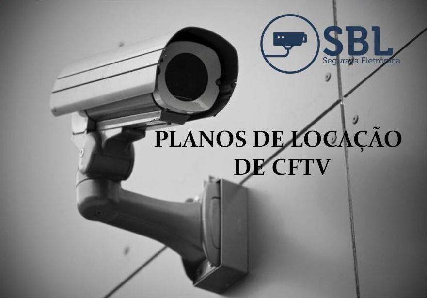 Valor de locação de câmeras de segurança